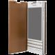 BlackBerry flipové kožené pouzdro pro BlackBerry Passport, sv. hnědá