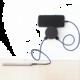 USBEPower AERO MINI charger 2USB ports cable, černá