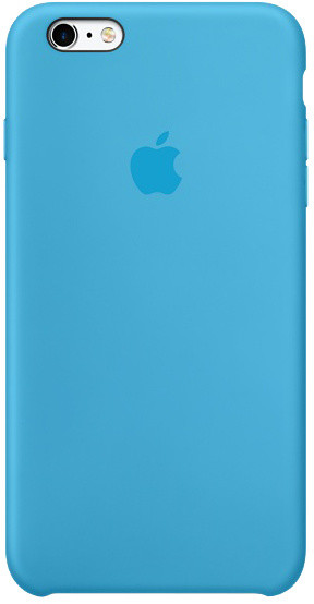 Apple iPhone 6s Plus Silicone Case, modrá