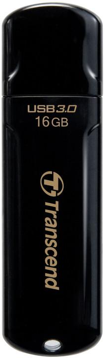Transcend JetFlash 700 16GB, černá