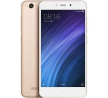 Xiaomi RedMi 4A LTE, - 32GB, zlatá + Kuki TV na 60 dní zdarma k telefonům Xiaomi 4A zlatá (v ceně 900,-)