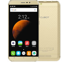 CUBOT Dinosaur - 16GB, zlatá - PH2481 + Zdarma SIM karta Relax Mobil s kreditem 250 Kč