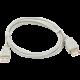 PremiumCord USB 2.0, A-A prodlužovací - 2m (stíněný)