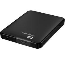 WD Elements Portable - 1,5TB, černá - WDBU6Y0015BBK-EESN + přenosný obal WD My Passport, černý v hodnotě 149Kč