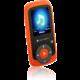 GoGEN MAXI MP3, 4GB, oranžová
