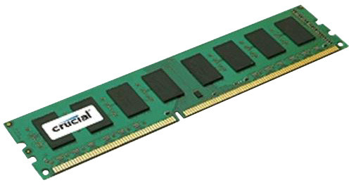 Crucial 2GB DDR3L 1600, Dual Voltage Single Ranked