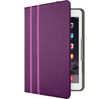 Belkin iPad Air 1/2 Twin Stripe Folio pouzdro, fialové - F7N320btC01