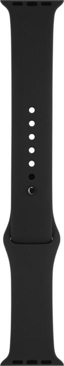 Apple watch náramek 42mm Anthracite/Black Nike Sport Band - S/M & M/L