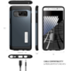 Spigen Case Slim Armor pro Galaxy Note 7, metal slate