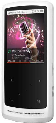 Cowon i9+ - 8GB, bílá
