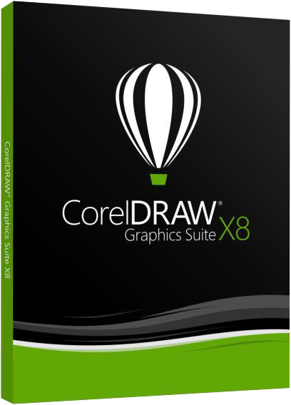 CorelDRAW Graphics Suite X8, DVD Box CZ