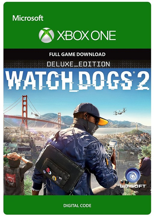 Watch Dogs 2: Deluxe Edition (Xbox ONE) - elektronicky