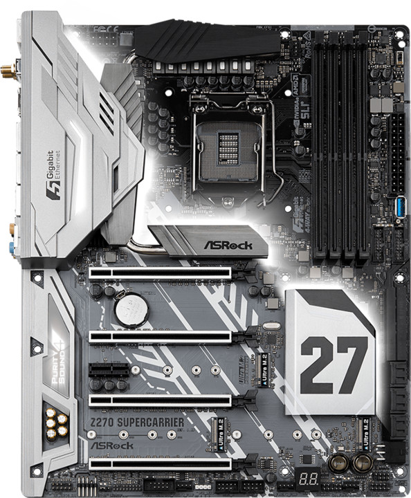 ASRock Z270 SuperCarrier - Intel Z270