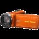 JVC GZ R435D, oranžová