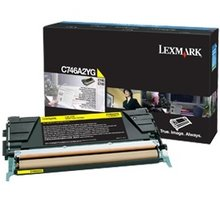 Lexmark C746A2YG, žlutá