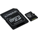 Kingston Micro SDXC 128GB Class 10 UHS-I + SD adaptér