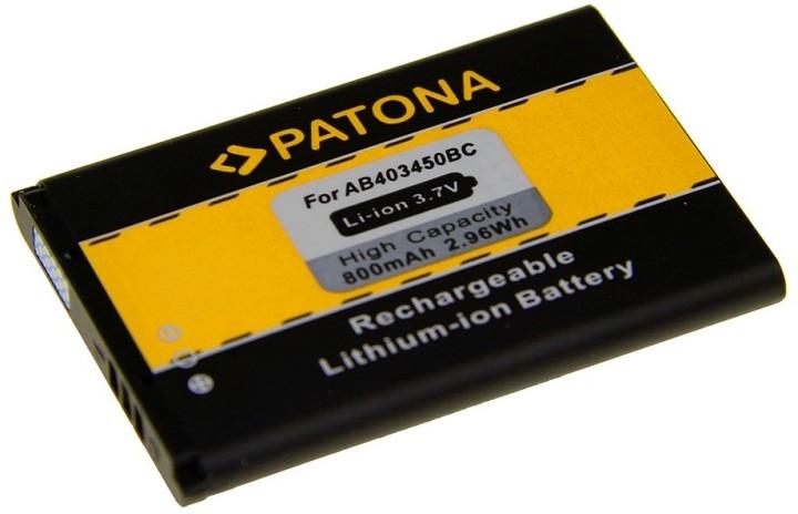 Patona baterie pro Samsung E2550 800mAh 3,7V Li-Ion