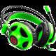C-TECH Helios (GHS-07G), černo/zelená