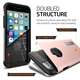 Spigen Slim Armor ochranný kryt pro iPhone 6/6s, rose gold