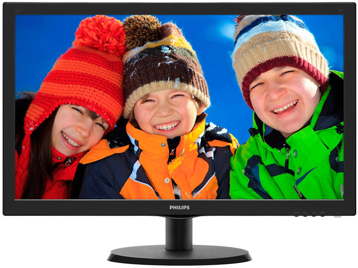 Philips 223V5LHSB - LED monitor 22""