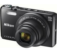 Nikon Coolpix S7000, černá + pouzdro - VNA800K001