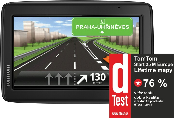 TOMTOM START 25 Regional Lifetime - CE