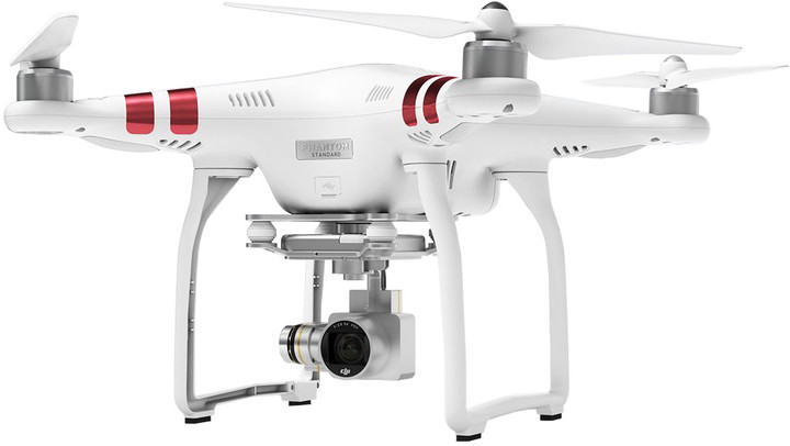 DJI Phantom 3 Standard, 2,7K Ultra HD kamera