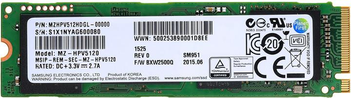 Samsung SM951 (M.2) - 128GB