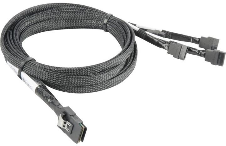 ADAPTEC kabel ACK-I-mSASx4-4SATAx1 0.5m
