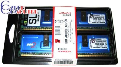 Kingston HyperX NV SLI 2GB (2x1GB) DDR2 800
