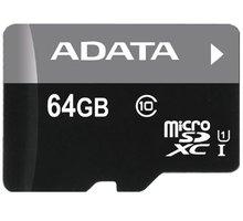 ADATA Micro SDXC Premier 64GB UHS-I - AUSDX64GUICL10-R
