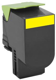 Lexmark 70C2HY0, žlutá, return