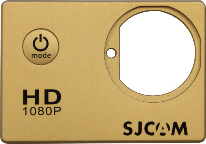 SJCAM ochranný kryt pro SJ4000, zlatý