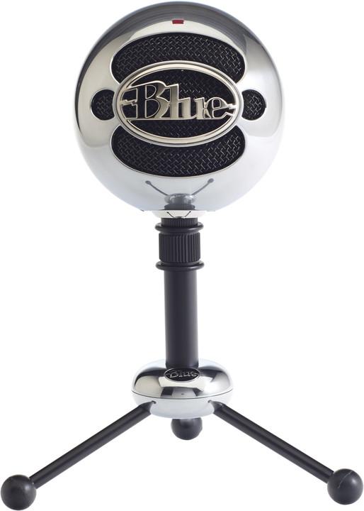Blue Microphones Snowball, leštěný hliník