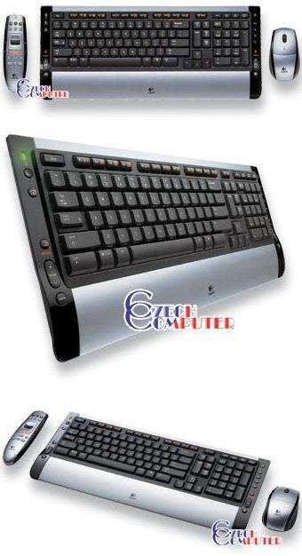 Logitech Cordless Desktop S510 Media Remote CZ