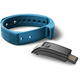 CellularLine EASYFIT bluetooth fitness náramek , modro-černá