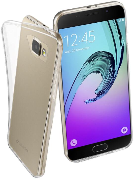 CellularLine zadní ochranný kryt Fine pro Samsung Galaxy A7 (2016), bezbarvá