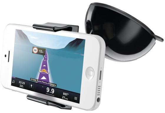CellularLine univerzální držák s přísavkou Crab pro mobilní telefony a smartphony, flexibilní rameno