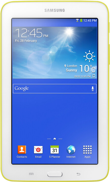 Samsung Galaxy Tab 3 7.0 Lite, lemon yellow