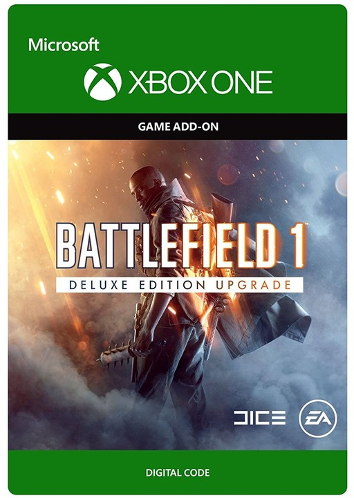 Battlefield 1: Deluxe Edition Upgrade (Xbox ONE) - elektronicky
