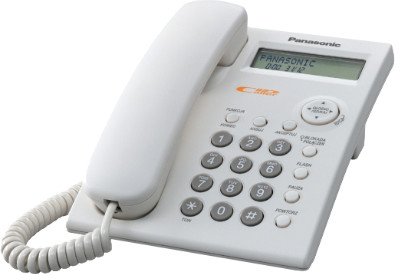 Panasonic KX-TSC11FXW, bílá