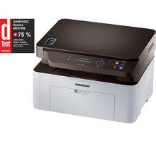 Samsung SL-M2070W - SL-M2070W/SEE + Fotopapír Safeprint pro laserové tiskárny Glossy, 135g, A4, 10 sheets v hodnotě 100Kč