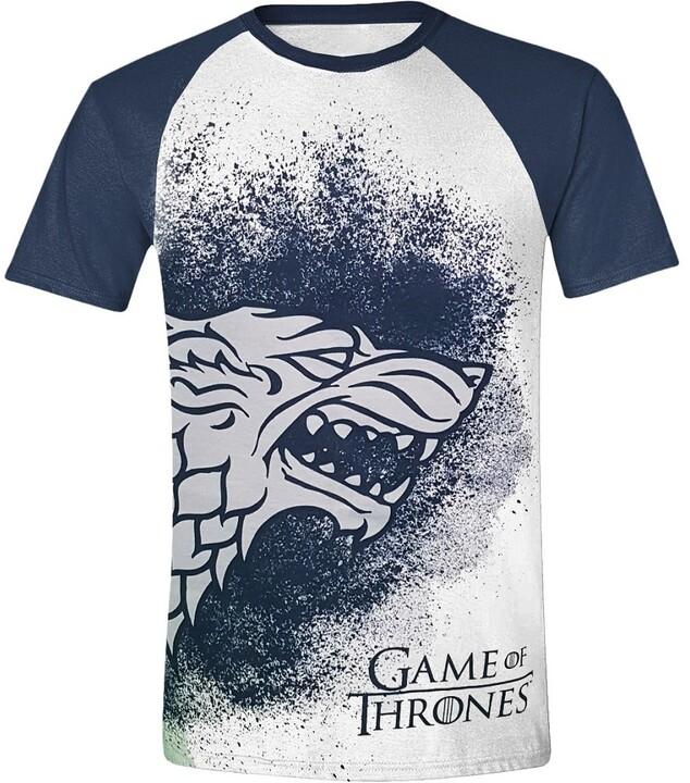 Game of Thrones - Painted Stark Raglan (S)