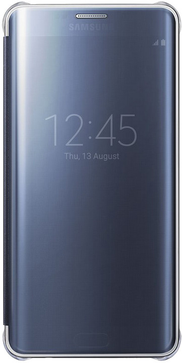 Samsung flipové pouzdro Clear View pro Samsung Galaxy S6 Edge+, černá