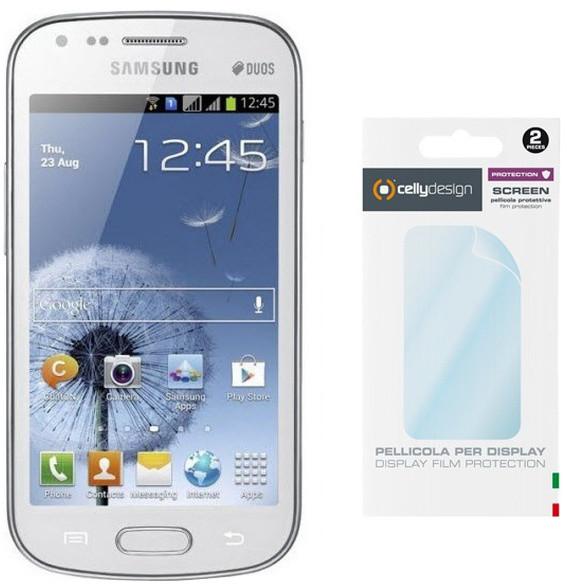 CELLY Screen protector pro displej Samsung Galaxy S Duos