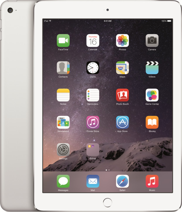 APPLE iPad Air 2, 64GB, Wi-Fi, stříbrná