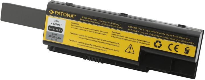 Patona baterie pro ACER, ASPIRE 5220 / 5920 8800mAh Li-Ion 10,8V