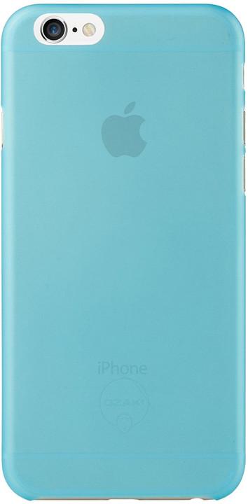 Ozaki O!coat 0.3 Jelly kryt pro iPhone 6/6s, modrá