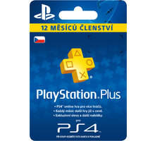 Playstation Plus Card - 365 dní - PS719807346