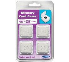 Integral - Pouzdro na paměťovou kartu - 1x microSD 4-pack - INMSDQUADBOX